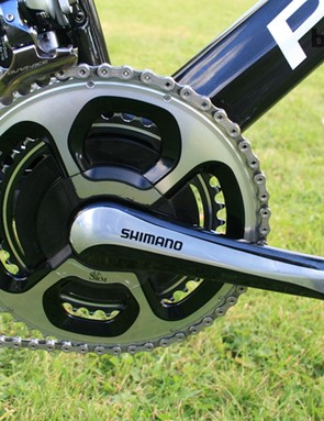 SRM launched a crankset to match the new Shimano Dura-Ace 11-speed groupset meaning mechanics no longer had to cannibalise older Dura Ace 7800 arms for 11-speed set ups