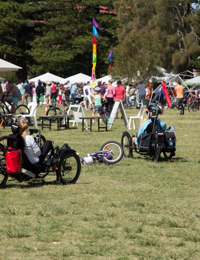 The Manly Bike Life Festival attracts all forms of cyclist