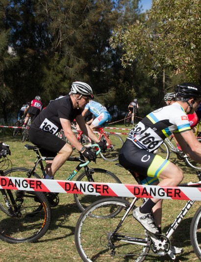 A large number of racers take to the NSW State Championships - already bigger than a mountain bike event