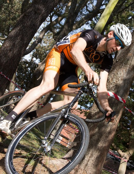 Eventual men's NSW State Cyclo-Cross Champion - Nick Both