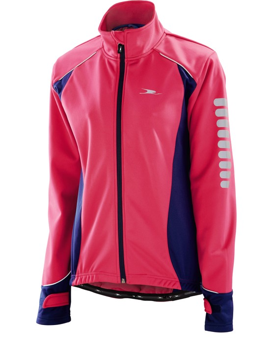 Aldi cycling gear includes this winter jacket in a range of colours