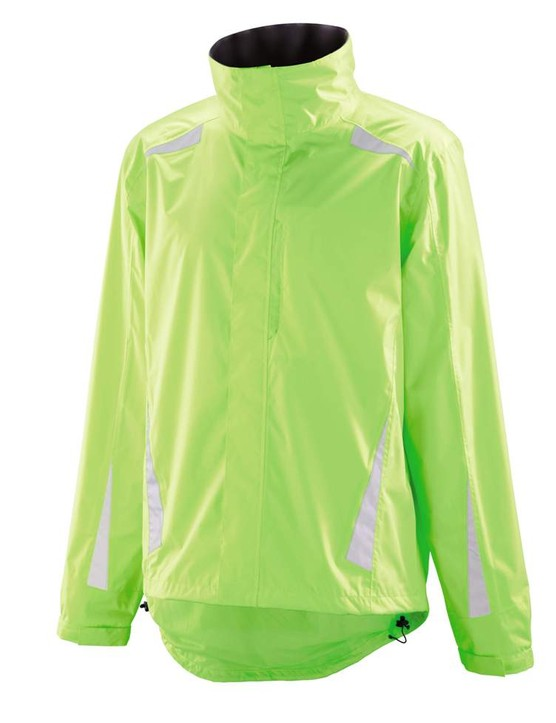 Aldi's high-viz rain jacket is bound to be a good seller