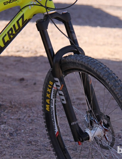 MRP has a new enduro/trail fork called the Stage. It will be available in early 2014 and will retail for US$960