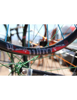 On the other end of the spectrum is Industry 9's Ultralight Torch wheelset. The 29in version has a claimed weight of 1,390g and no rider weight limit. Like the Enduro version the Ultralight retails for US$2,500