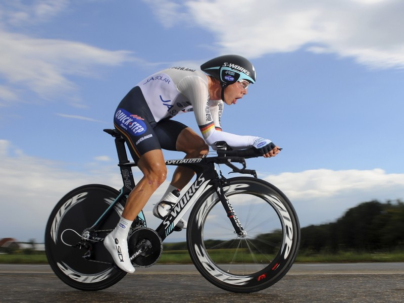 Tony Martin rode to gold at the 2012 individual time trial world championships on a Specialized S-Works Shiv TT. He is hoping for the same result this week