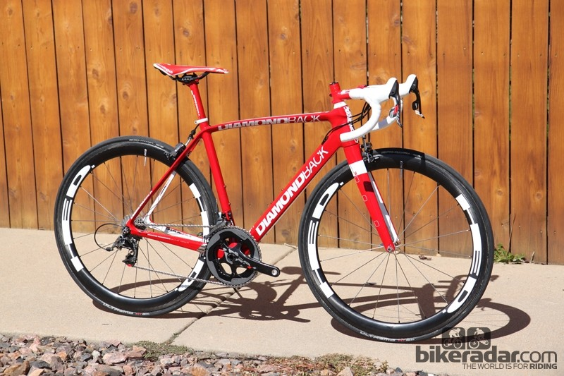 The Diamondback brand name may not be that well known in road circles, but the company does have a history on the hard stuff. More importantly, its Podium Equipe Red 22 model is a solid performer