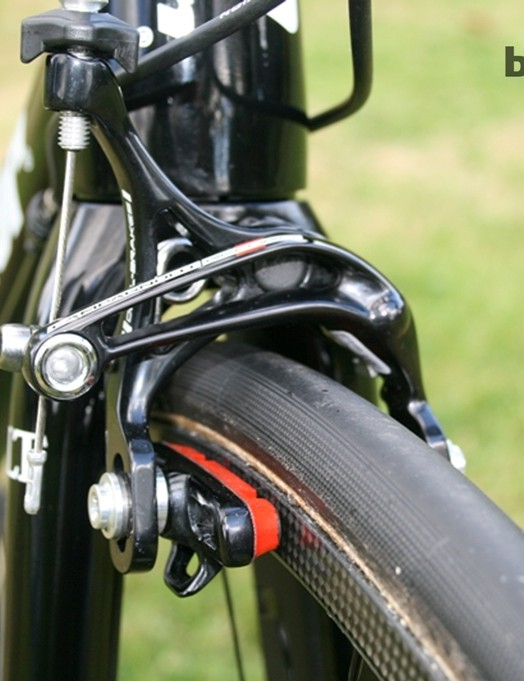 Rapha-Condor-JLT had a stock of Continental Force and Attack tubular tyres, with a slick central track