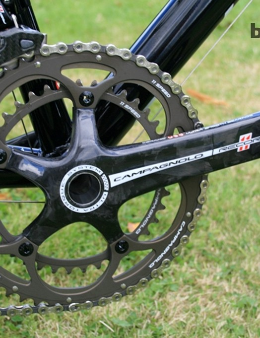 Standard 53-39T chain rings on House's bike