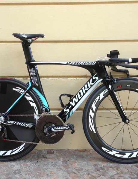 Tony Martin's Specialized S-Works Shiv TT at the 2013 World Championships