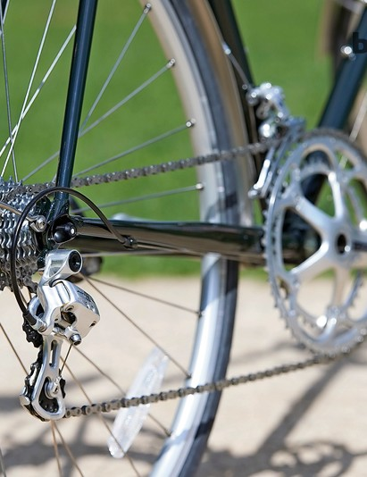 An 11-23 cassette is better suited to  a time trial bike