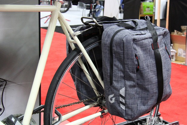 Blackburn's new Central line of panniers and bags add a bit of fashion as well as function