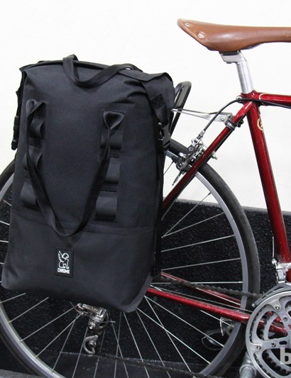 Chrome has a new line of bags and panniers. The panniers will retail for US$160 per bag