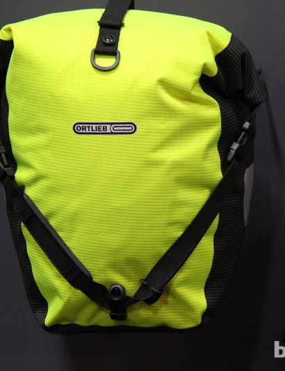 Ortlieb has a new line of high-vis commuter bags