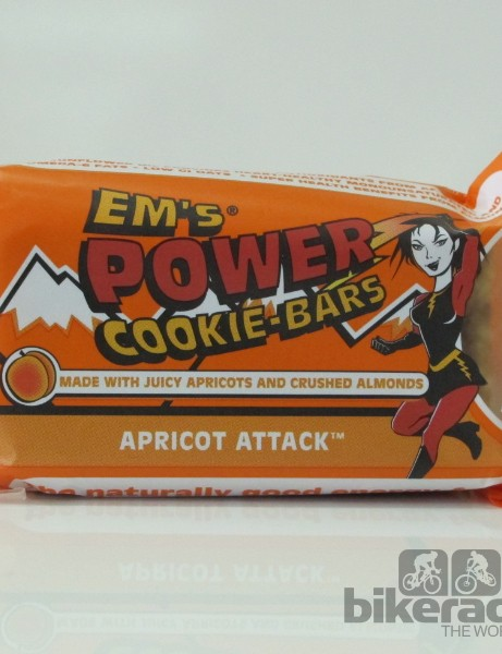 Em's Power Cookie Bars - Apricot Attack