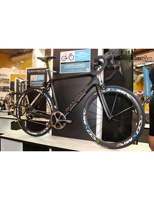 The Storck Aernario Platinum Edition: one of the best looking road bikes at the Cycle Show?