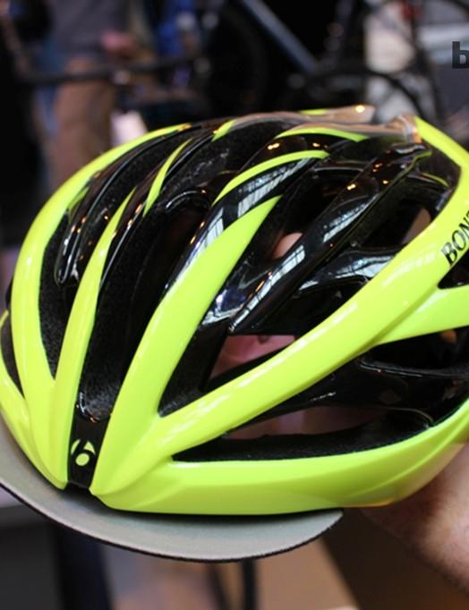 Bontrager's new Velocis helmet comes with a detachable peak
