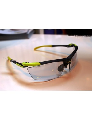 New Rudy Project Proflow glasses with jelly-like ImpactX photochomic lenses