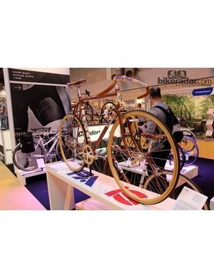 Condor also does a line of vintage bikes under the Paris label. It's got wooden rims
