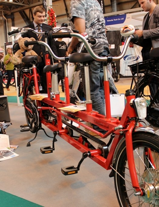 The future of the school run? Dutchbike.co.uk imported this three-seater cargo into the UK