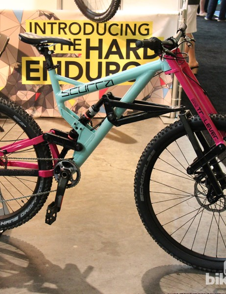 Scurra is a small Austrian company that is trying to shift the frame design and suspension paradigms with this 7in travel 'Hard Enduro' bike