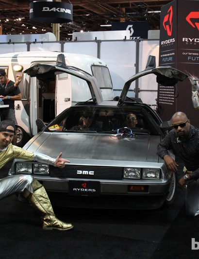 BikeRadar's award for best DeLorean went to Ryders Eyewear