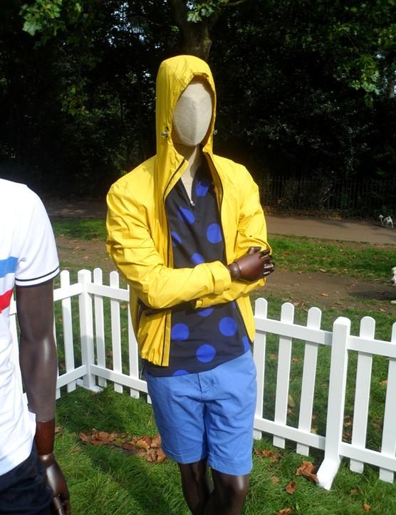 Hackett's rain jacket