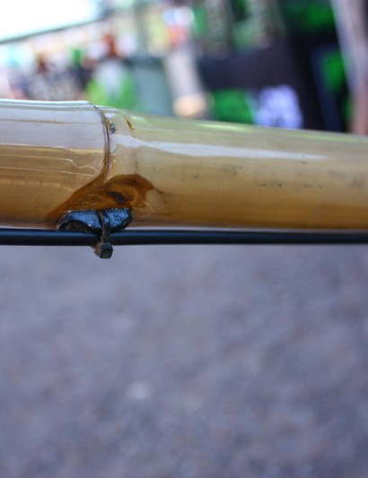 How do you run cable guides on bamboo? Like this