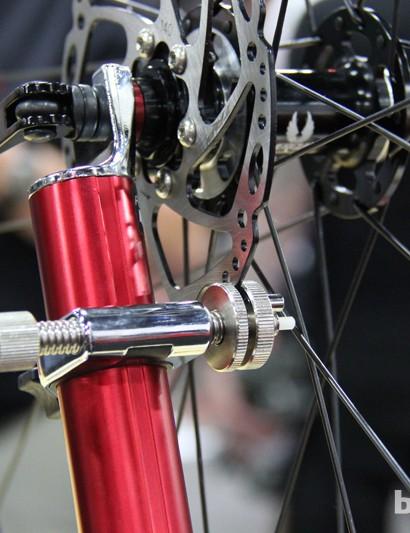 Feedback's Pro Wheel Truing Stand got a much needed update. Among the many revisions is a disc brake rotor truing slot