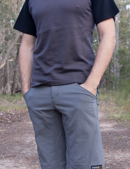 The Nzo Sifters and Bart T-shirt combine for a casually styled, trail worthy outfit