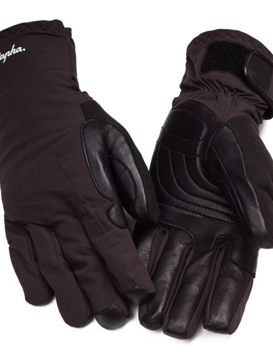 The Rapha Deep Winter Gloves - they look sturdy