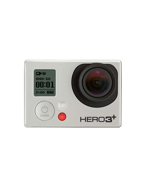 The new GoPro HERO3+ Black Edition action camera