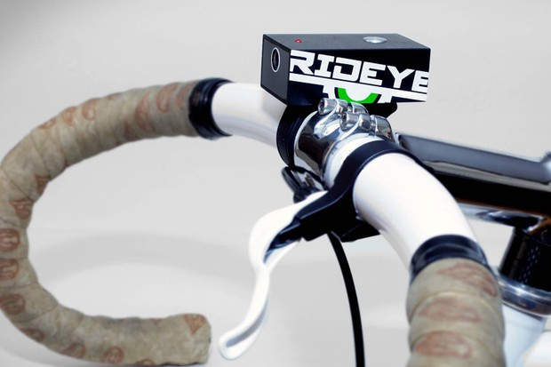 The Rideye action camera is dubbed a black box for commuting cyclists