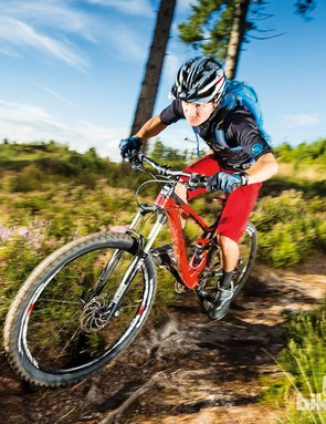 A nicely progressive spring rate gives the BH Lynx 6 650b 8.5 Alu plenty of supple grip