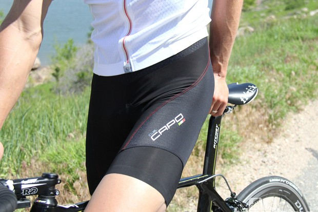 Capo Drago bib short: Great fabrics; less-than-ideal constrution