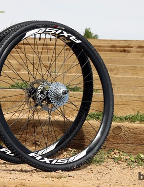 Few cyclocross riders would want to train on their race wheels and many making the switch to disc might not have a good wheel inventory built up already. Specialized takes away some of the headache by including a set of aluminum training wheels and a set of carbon wheels for race day, both with tires, rotors, and a cassette for easy swaps