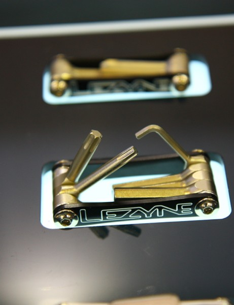 Lezyne's 65g V7 has T25 and T30 tools plus 2.5, 4, 5, and 6mm hexes and a screwdriver