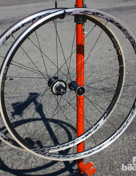 Road tubeless 2014: Easton's EA90 SLX wheelset weighs 1,440g