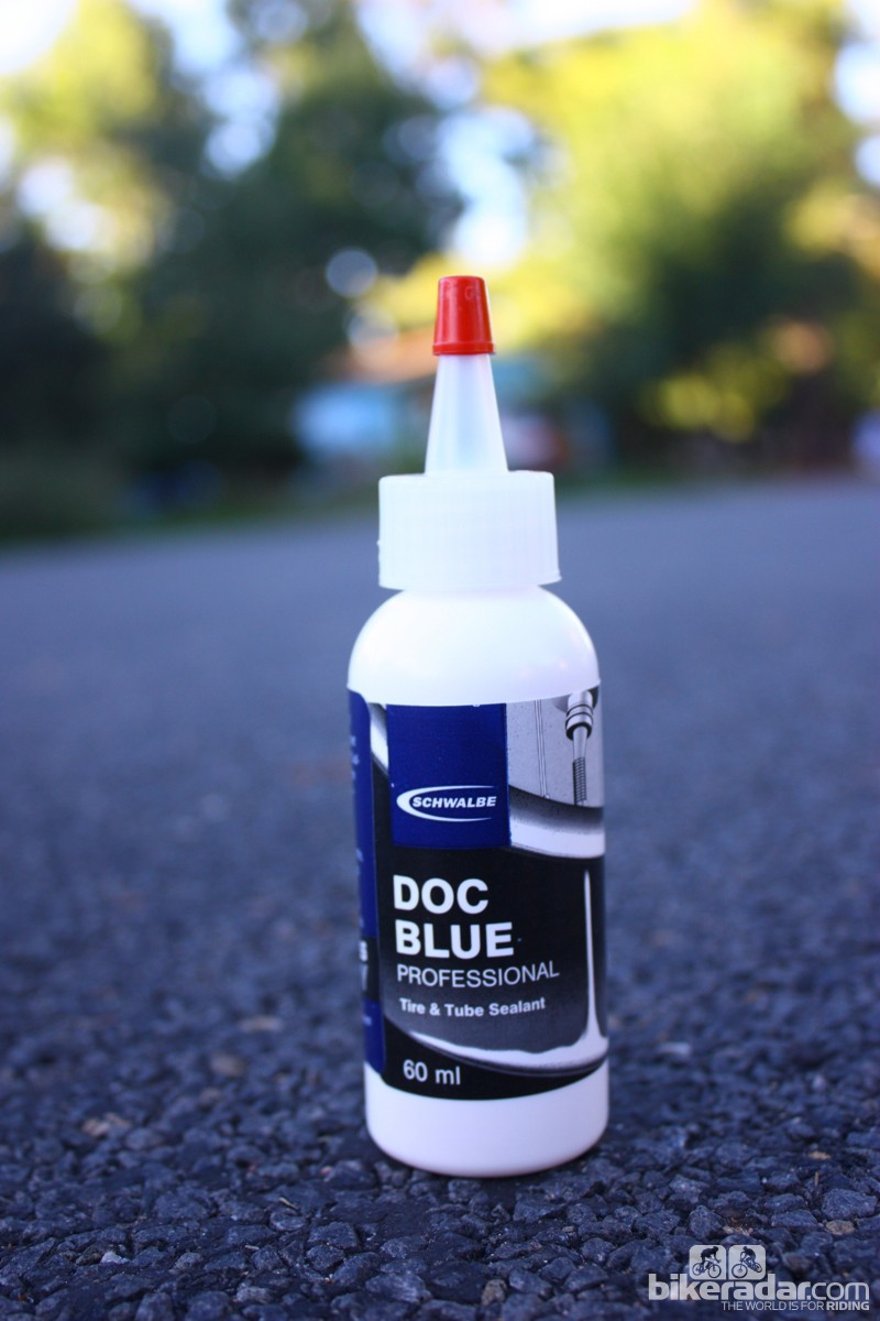 Road tubeless 2014: Schwalbe sells a sealant made by Stan's NoTubes