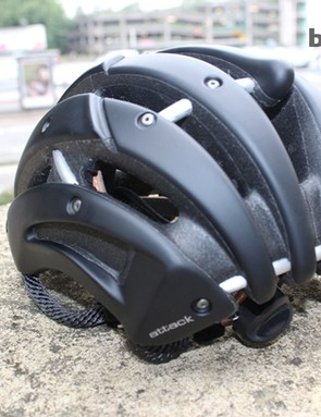 The back view of the £229.99 Casco Attack