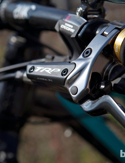 TRP Quadiem SL brake lever