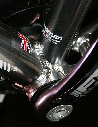 ...but not those on the bottom bracket. Boardman wanted to spend the cash elsewhere, BikeRadar was told