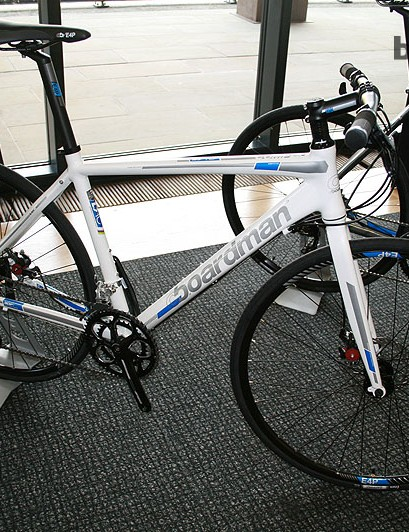 The Boardman Hybrid Comp (£499.99) a budget model that'll be a big seller with the commuter crowd