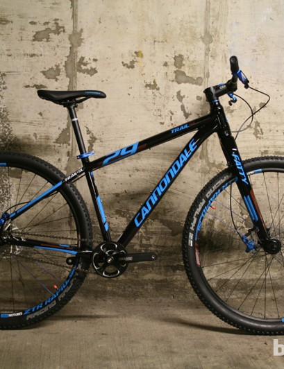 The Cannondle Trail SL 29 SS is a perfect example of how less can be more on cheaper mountain bikes
