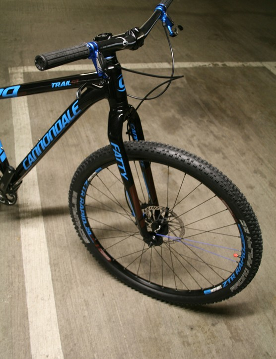 The alloy Fatty fork uses a 1.5