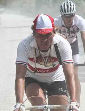 L'Eroica Pro Bike: Franco Rossi has won two editions of the retro race