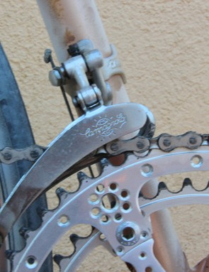 L'Eroica Pro bike: Campagnolo Nuovo Record graces the Cinelli