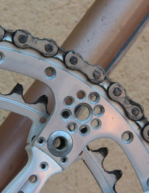 L'Eroica Pro bike: Sculpting work on the rings