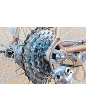 L'Eroica Pro bike: You've got five gears; take your pick