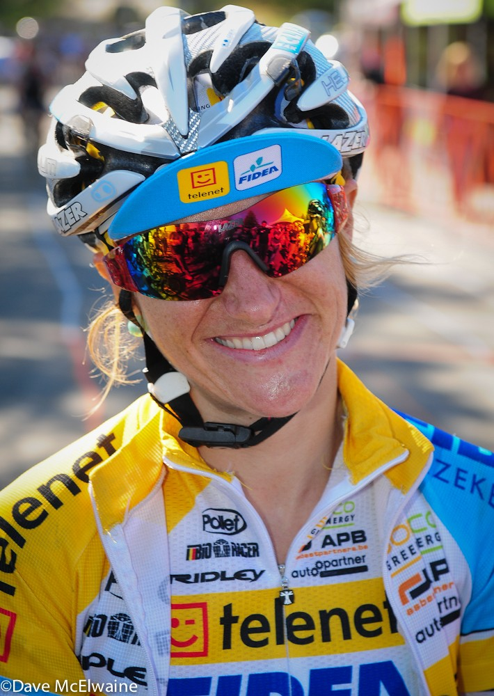 Amy Dombroski was killed on a training ride in Belgium on October 3, 2013