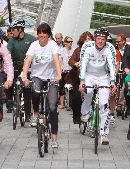 Chris Boardman has attended numerous media calls to promote cycling, such as the 2011 Team Green Britain Bike Week